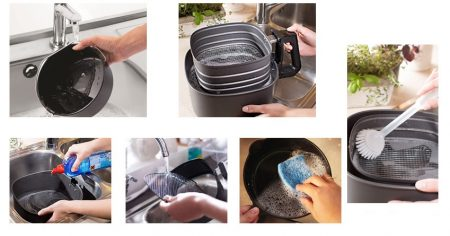 How To Clean an Air Fryer, the Easy Way